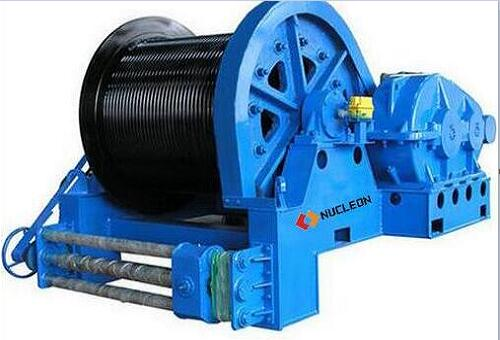 JM Electric Rope Winch