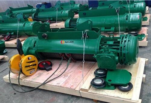 HB explosion-proof steel wire rope electric hoist