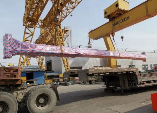 QD Double Girder Overhead Crane Deliver To Mexico